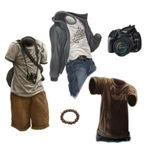 Как создать в Photoshop складки на одежде