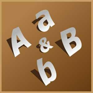 Как создать большие трафареты алфавита