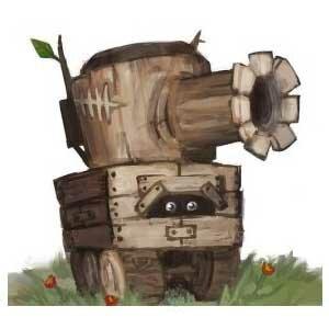 Как можно сделать модель танка из дерева